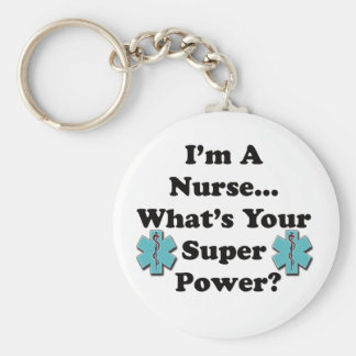 Super Nurse Key Ring