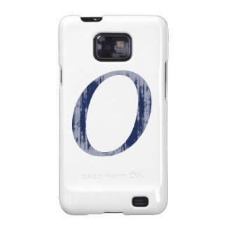 Super O blue Faded.png Samsung Galaxy S2 Case