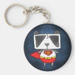 Super Panda Key Chains