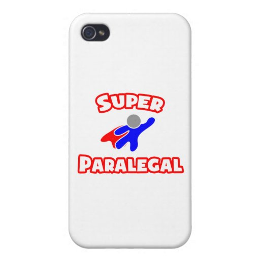 Super Paralegal iPhone 4/4S Covers