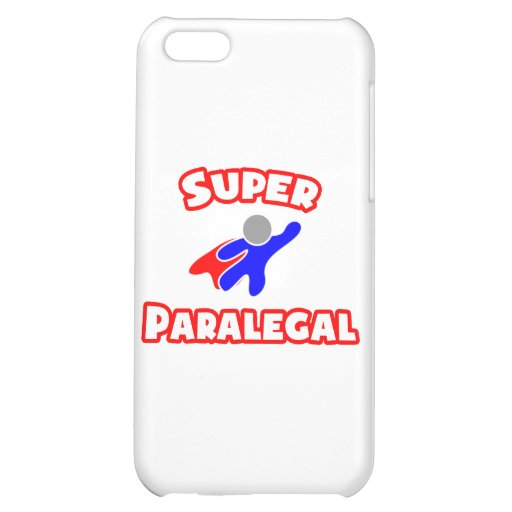 Super Paralegal iPhone 5C Cases
