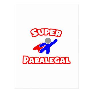 Super Paralegal Postcard