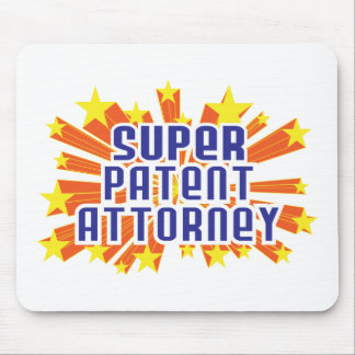 Super Patent Attorney Mouse Mat