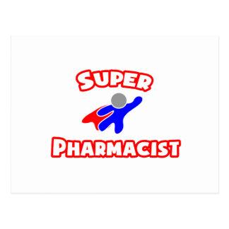 Super Pharmacist Postcard