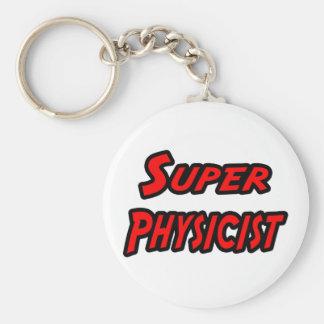Super Physicist Basic Round Button Key Ring