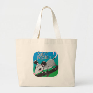 Super Possum Canvas Bag