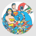 Super Powers™ Collection 1 Round Sticker