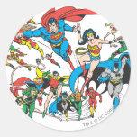 Super Powers™ Collection 3 Round Sticker