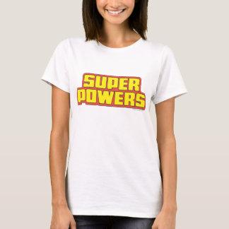 Super Powers™  Logo Yellow T-Shirt