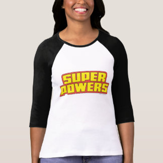 Super Powers™  Logo Yellow T Shirt