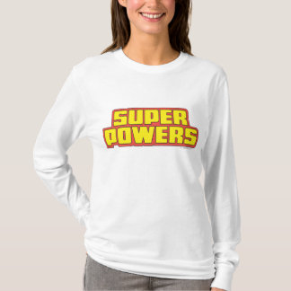 Super Powers™  Logo Yellow T-Shirt
