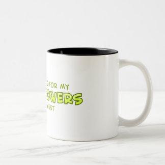 Super Powers Two-Tone Coffee Mug