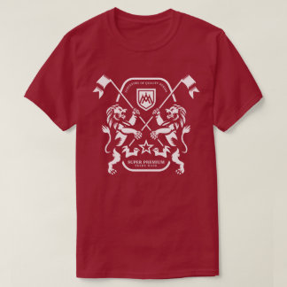 Super Premium Dual Lion Men's (Maroon) T-Shirt