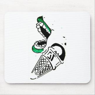 super premium ice cream mouse pad