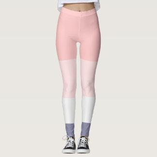 Super Pretty Pink and Purple Panel leggings
