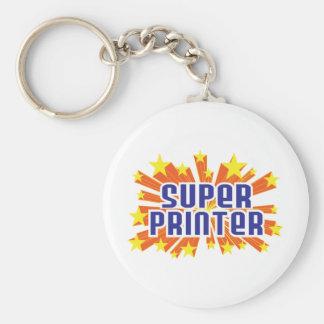 Super Printer Keychain