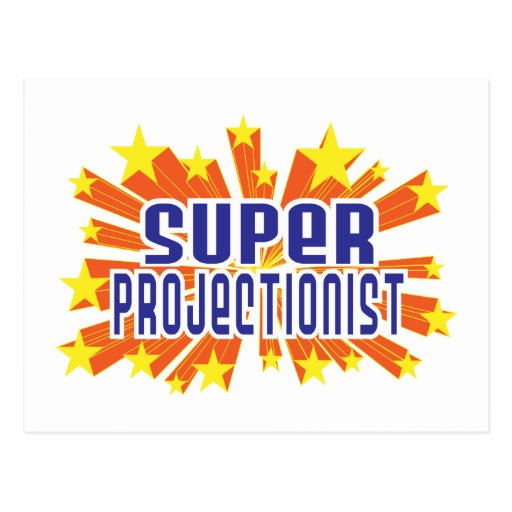 Super Projectionist Post Cards