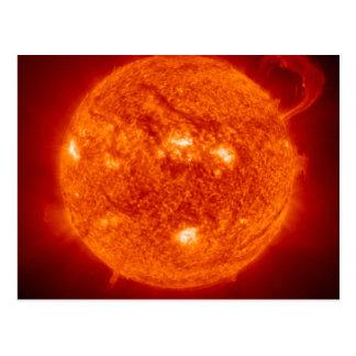 Super Prominence - Sun in Space Postcard