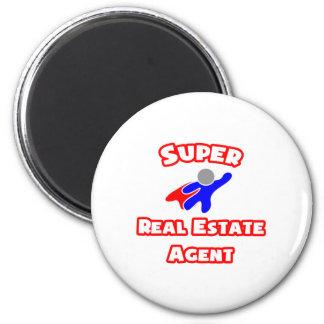 Super Real Estate Agent 6 Cm Round Magnet