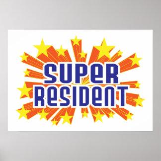 Super Resident Print