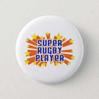 Super Rugby Player 6 Cm Round Badge