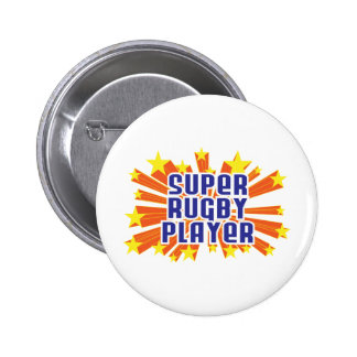 Super Rugby Player Pinback Buttons