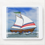 Super Sailboat on the High Seas Mousemat