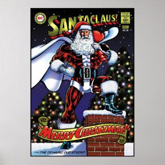 Super Santa Poster
