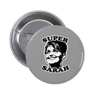 Super Sarah 6 Cm Round Badge