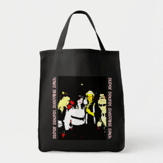 Super Secret Shopping Sack Tote Bag