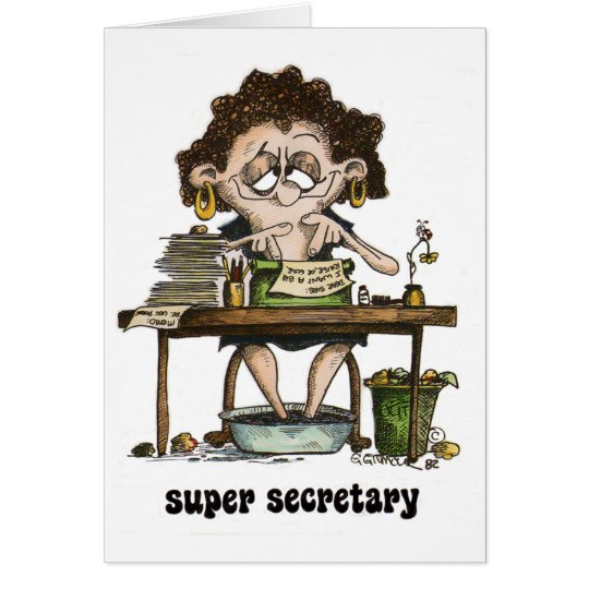 super secretary card