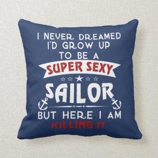 Super Sexy Sailor Cushion