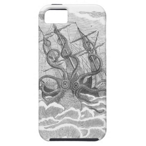 Super Sized Sushi Kraken iPhone 5 iPhone 5 Cover