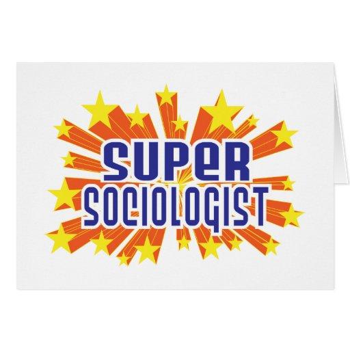 Super Sociologist Card