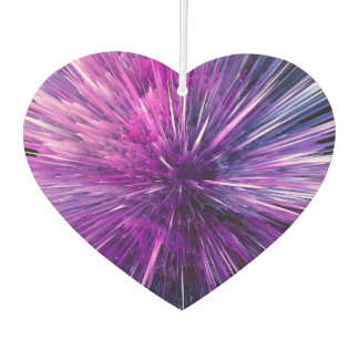 Super sonic - gorgeous purple car air freshener