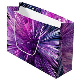 Super sonic - gorgeous purple large gift bag