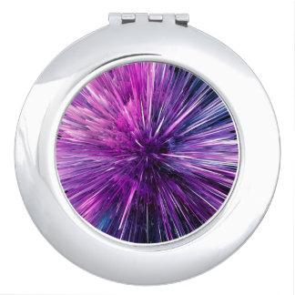 Super sonic - gorgeous purple vanity mirror