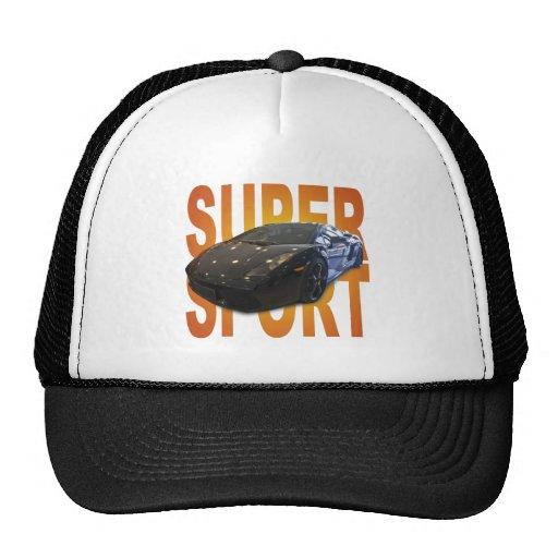 super sport car hats