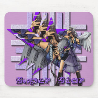 Super Star Angel - Mousepad