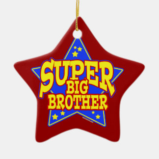 Super Star Big Brother Christmas Ornament