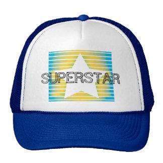 Super Star Colored Stripes Hat