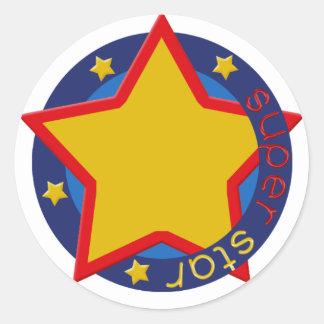 Super Star Cupcake Topper/Sticker