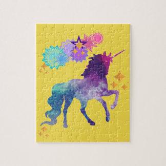 Super Star Galaxy Unicorn Jigsaw Puzzle