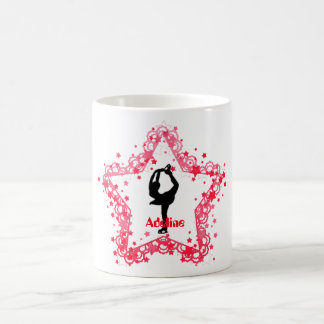 Super Star Girl Ice Figure Skating Personalized Coffee Mug