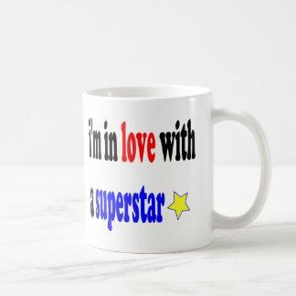 Super Star Love Basic White Mug