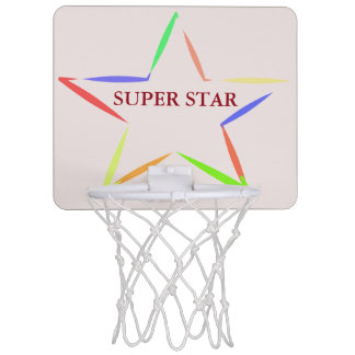 super star ring mini basketball hoop