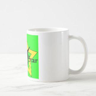 SUPER STARgreen Basic White Mug