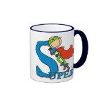 Super Stick Figure Hero Mugs
