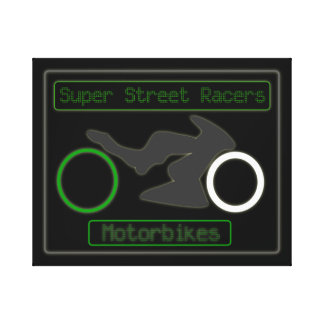 SUPER STREET RACERS STRETCHED CANVAS PRINTS