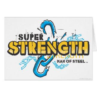 Super Strength Card